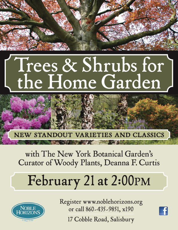 New York Botanical Garden Curator at Noble Horizons in Salisbury CT