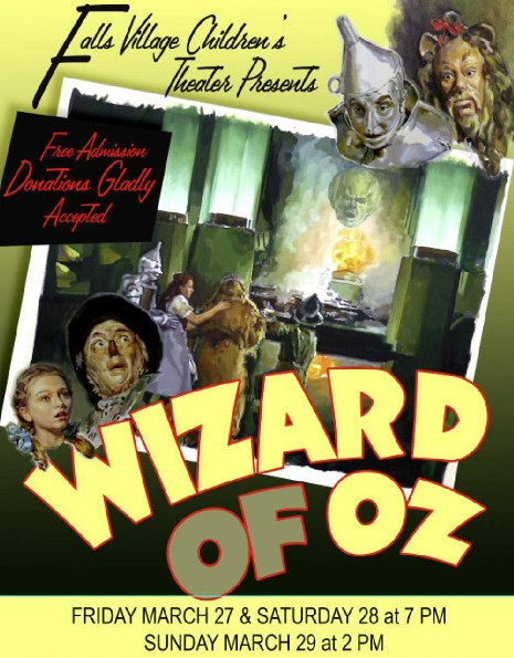 The Wizard of Oz at the Housatonic Valley Regional High School is Falls Village CT
