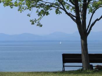 Shelburne on Lake Chmplain