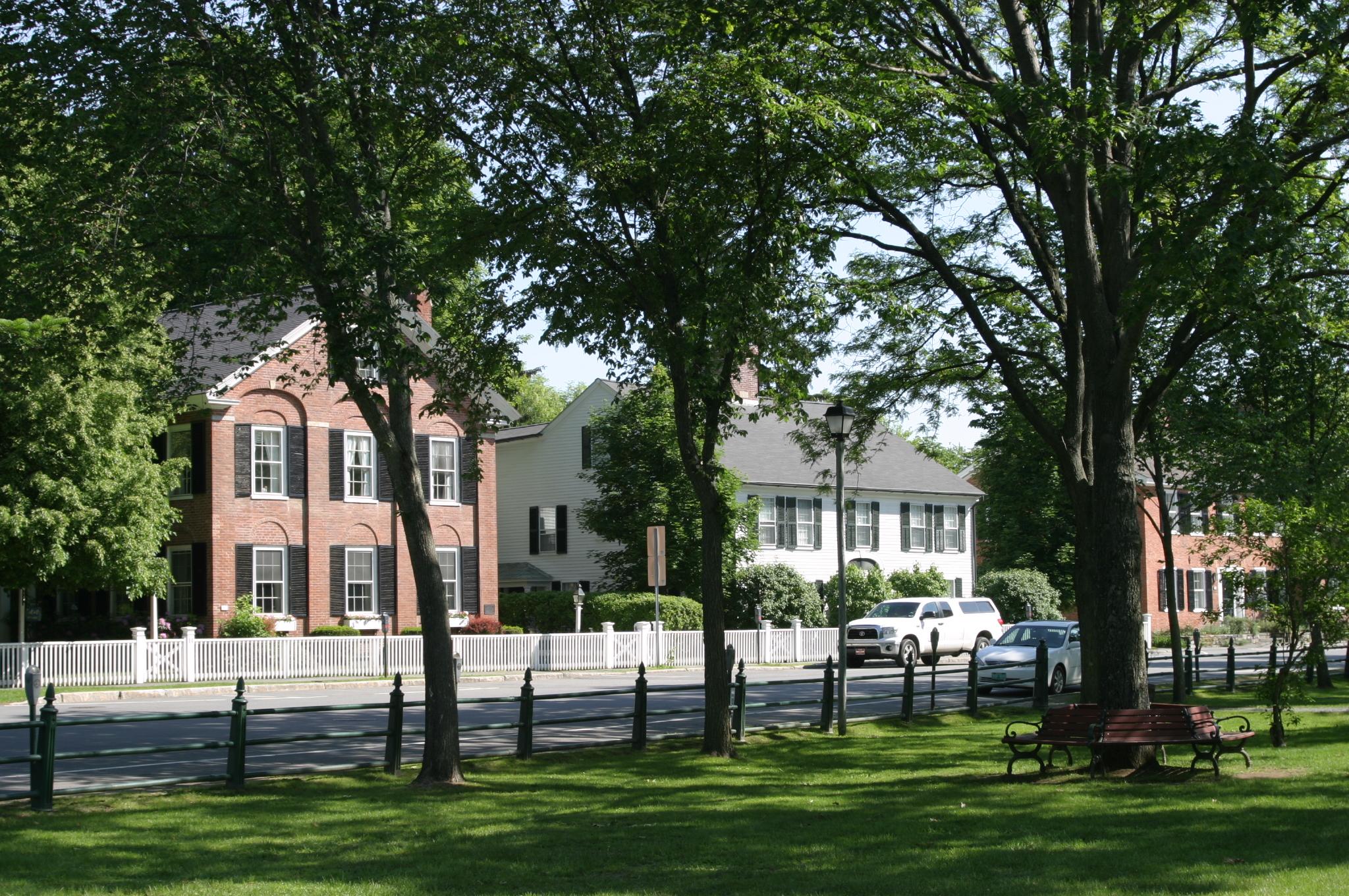 Brick Colonials in Woodstock VT