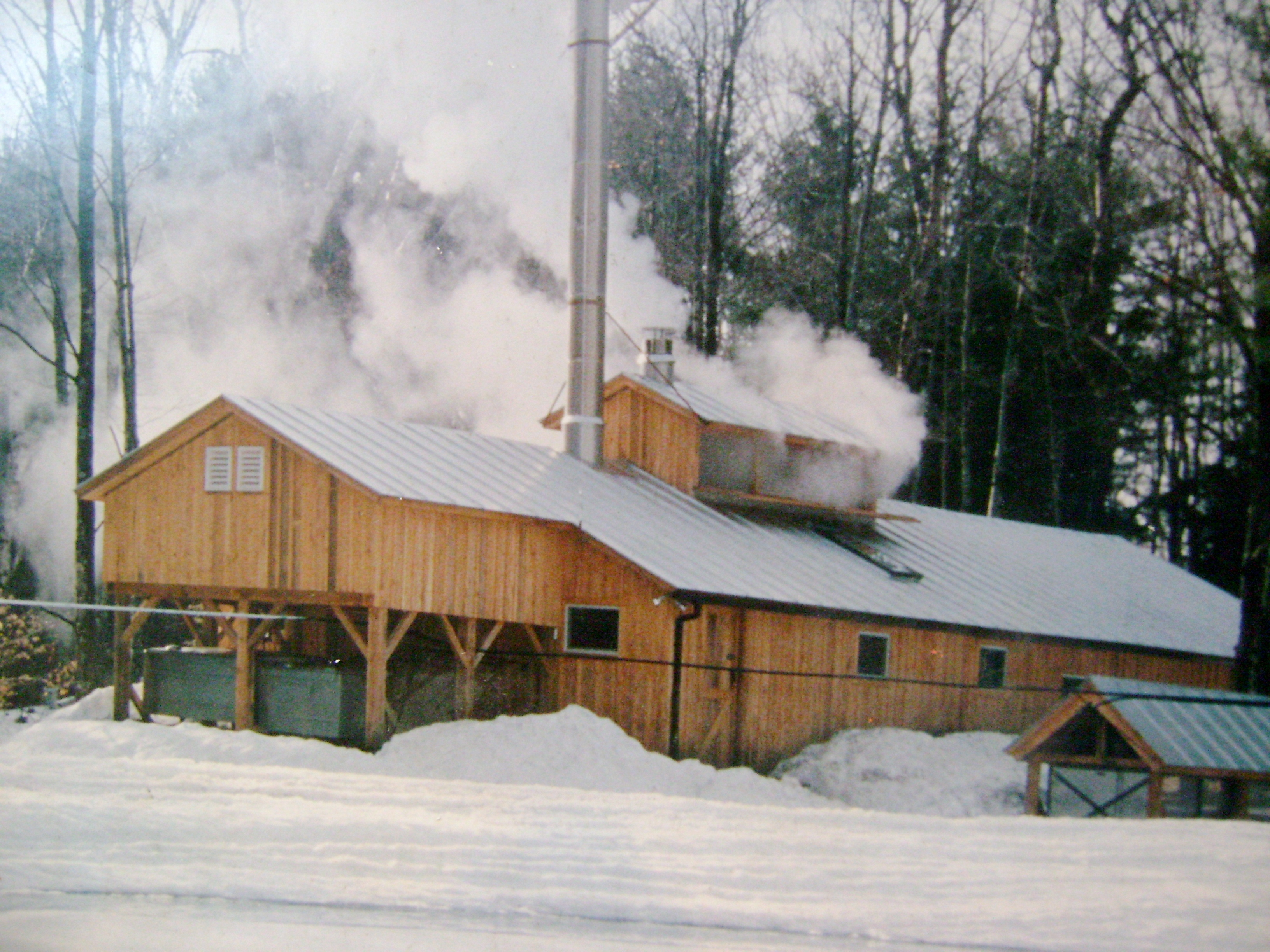 Sugaring in Woodstock Vermont
