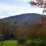 Fall At Stratton -- Winter skiing -coming