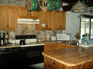 Kitchen at 143 Edidelweiss Drive, Madison New Hampshire