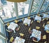 Dining at the Top of the Hub