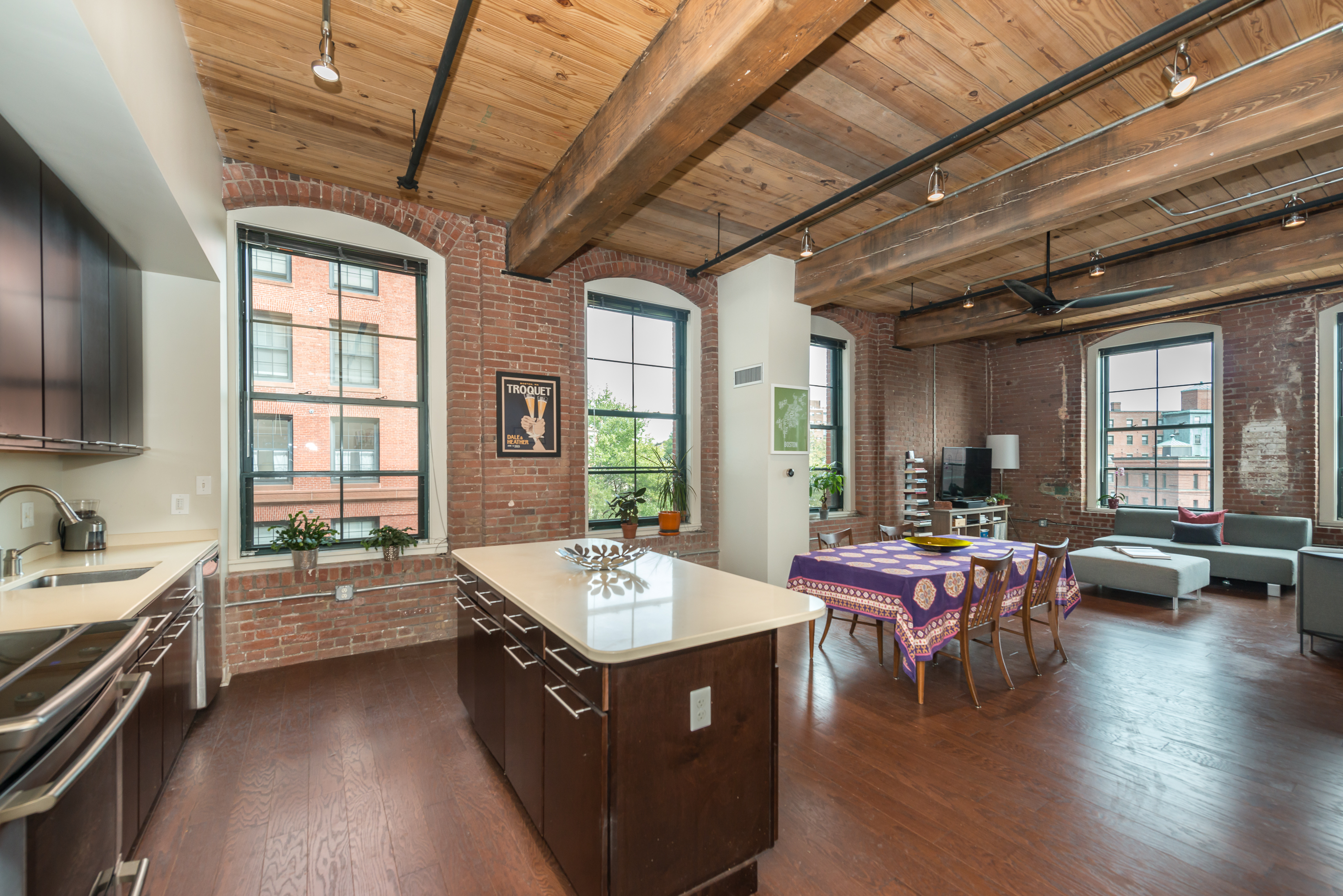 Historic Lower Mills Loft
