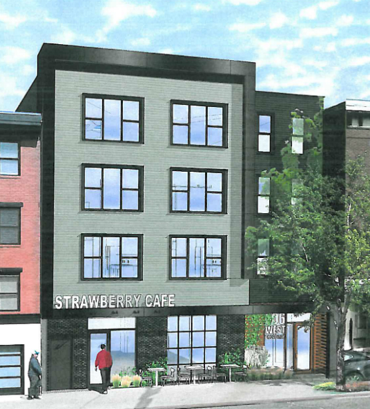 206 West Broadway Render