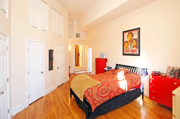 Master Bedroom 1 Summer Street Somerville Church Loft