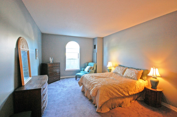 Admirals Hill Condo Master Bedroom