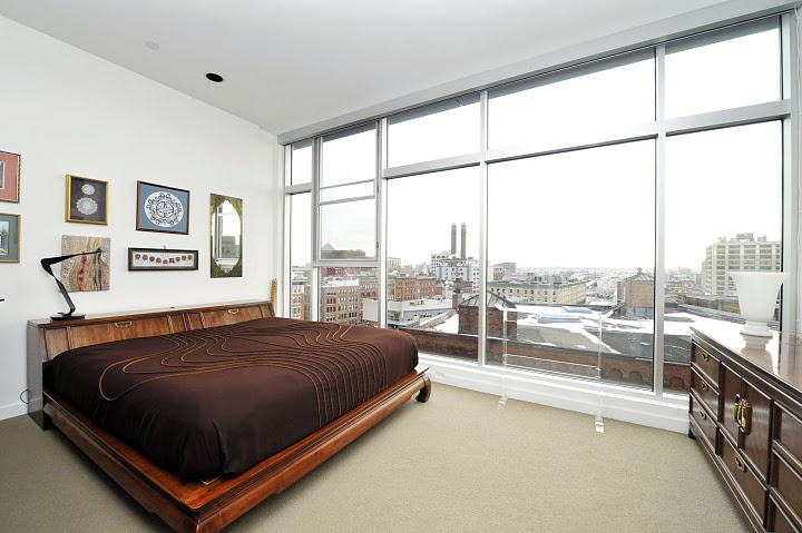 Lafayette Lofts Master Bedroom