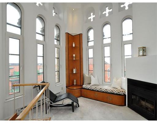 Church Court Loft Living Room