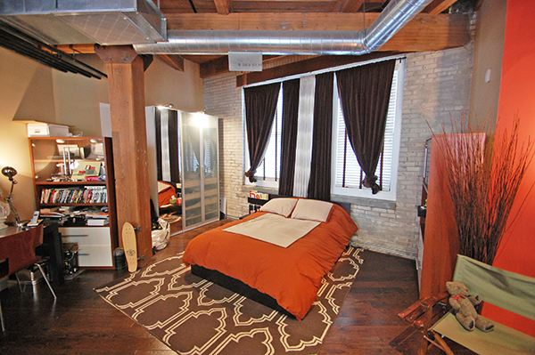 Bedroom Charleston Chew Lofts