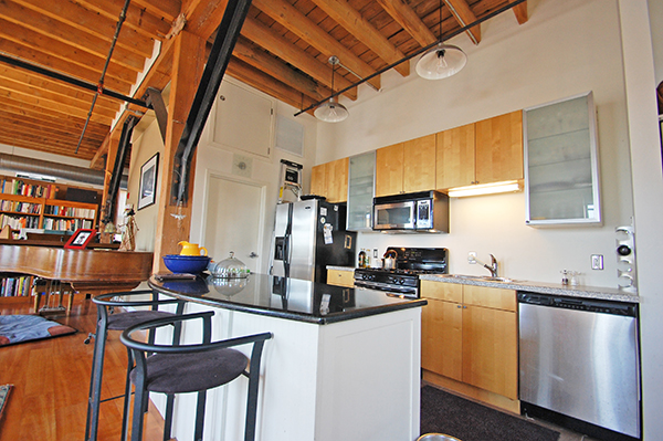 Spencer Lofts Kitchen