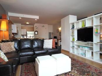 Modern Livingroom American Brewery Lofts