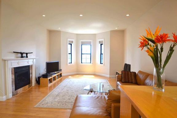63 Otis Cambridge living room