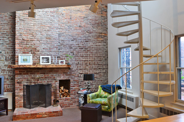 South End 2 Level Loft In Gorgeous Brownstone Boston