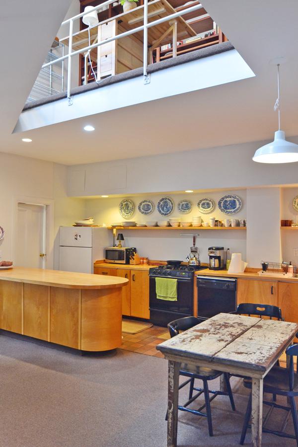 Loft Style Kitchen South End