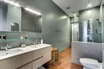 Gorgeous Spa-like Baths at 36 A Street Lofts in South Boston