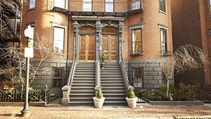 Steps of Condos in South End of Boston