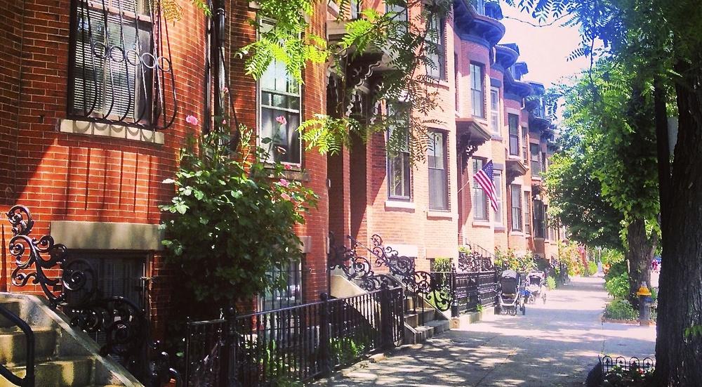 Boston townhomes