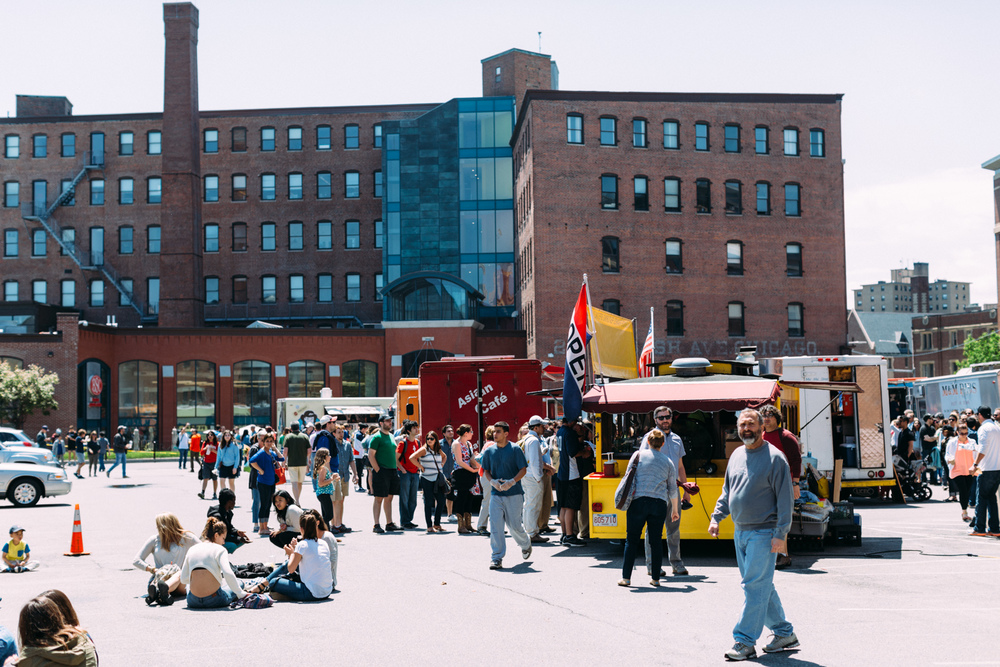 Food Trucks in Boston's South End