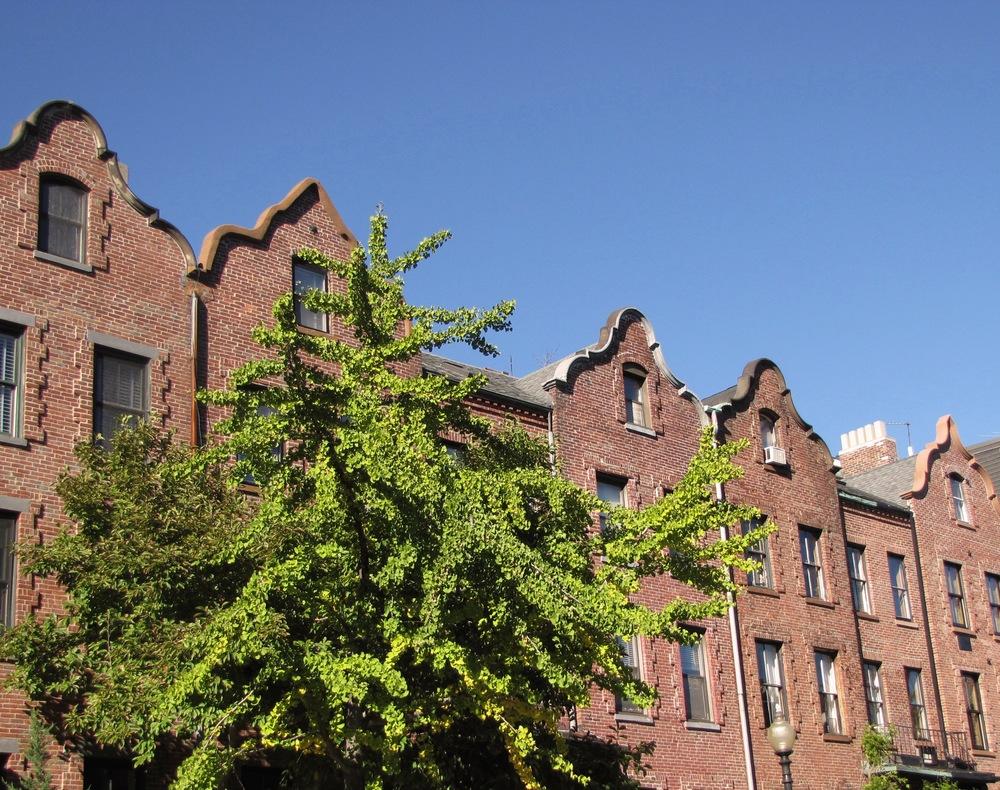 Boston South End brownstone