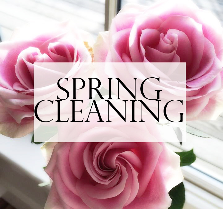 floral - spring cleaning banner
