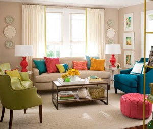 tan-sofa-colorful-pillows