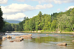 Riverfront lots available on Saco River NH