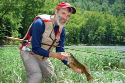 Conway Lake Fisherman