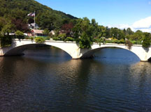 Shelburne Falls, MA Bridge of Flowers