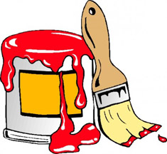 Paint Can-Brush