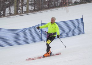 Phil Pless at the finish!