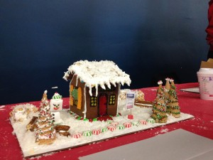 gingerbrread house 2013