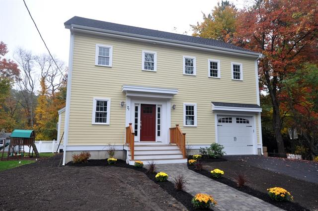 New Construction! 71 Dothan Street, Arlington MA