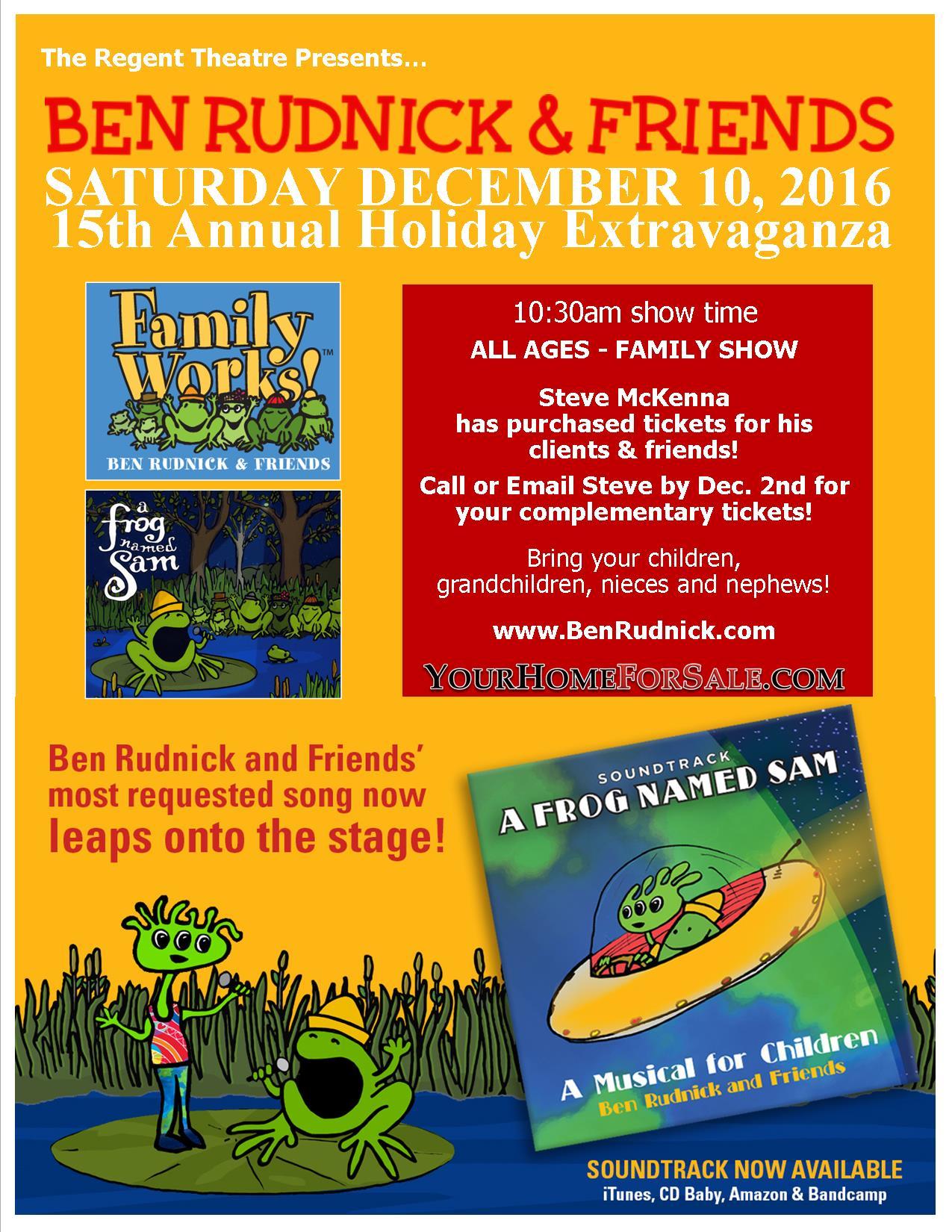 Ben Rudnick & Friends Holiday Concert