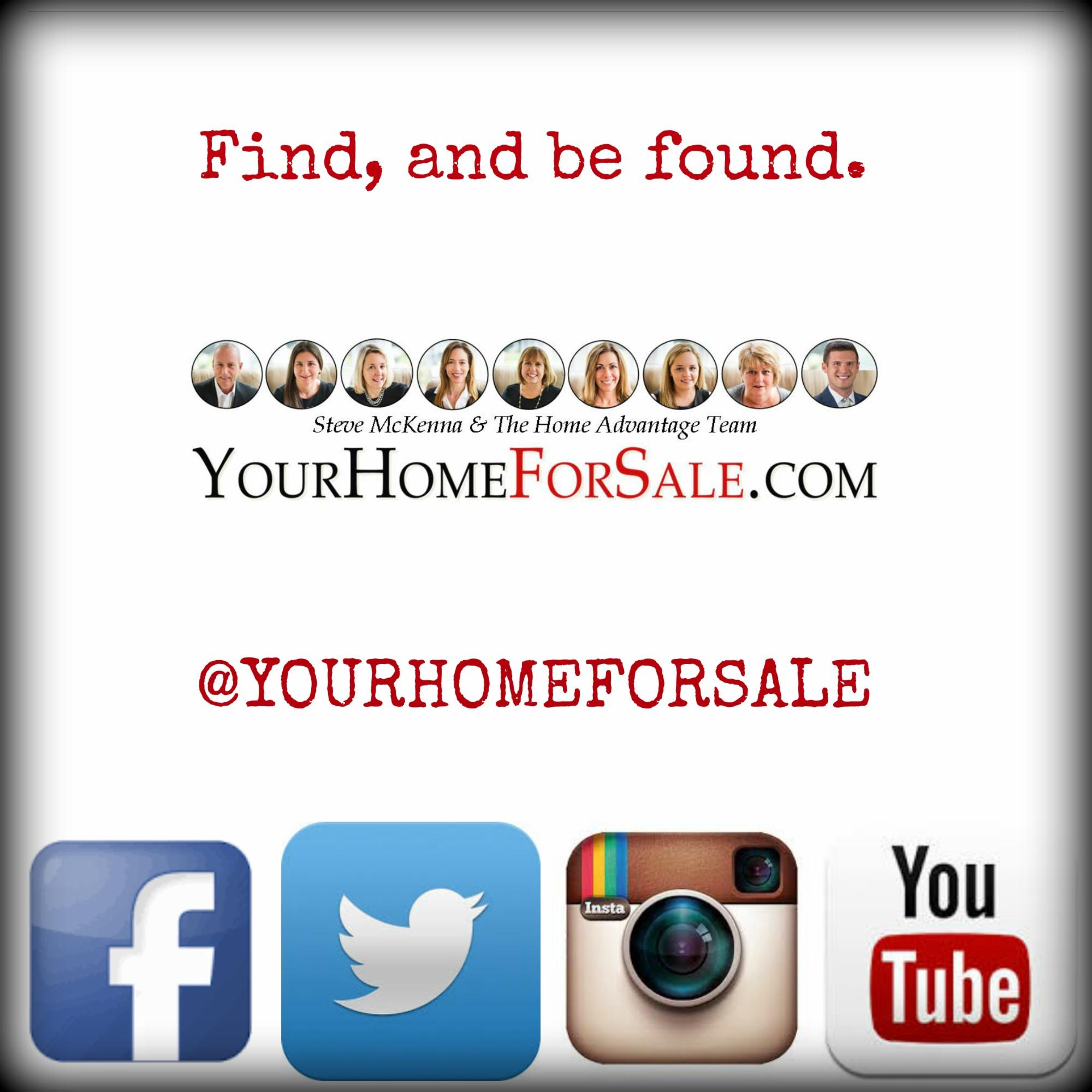 Find and Be Found, with Steve McKenna & The Home Advantage Team