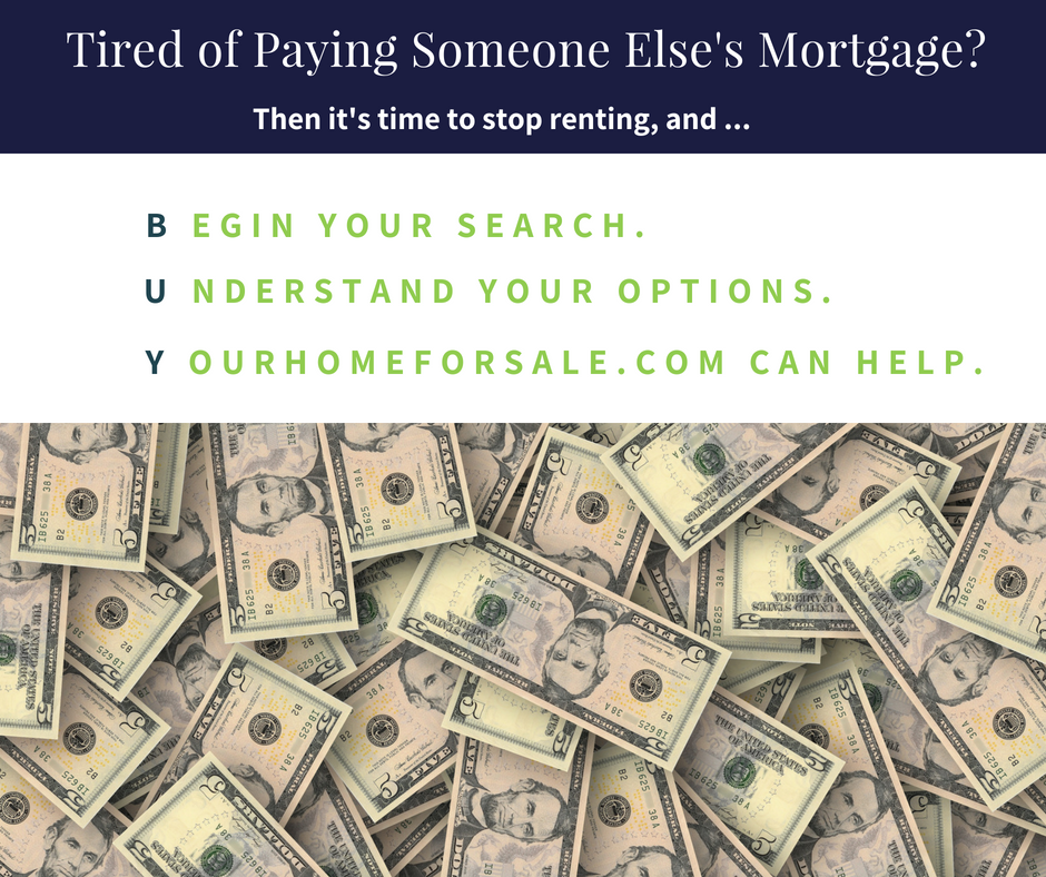 Tired of Paying Someone Else's Mortgage?