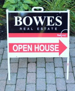 BowesOpenHouseSign