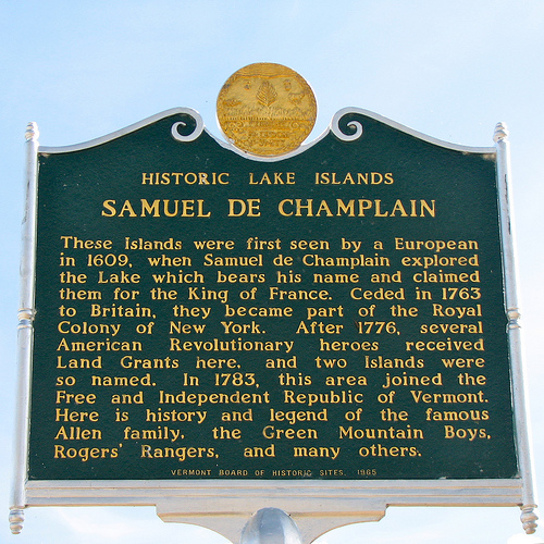 Samuel De Champlain - History of Lake Champlain