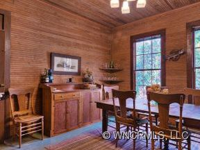 Historic interior of Greybeard's 533 Magill in Montreat.