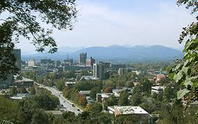 Asheville recognized as special happy place.