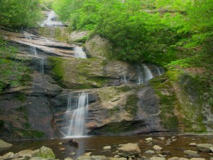 Black Mountain NC Waterfall Image to Celebrate Site Dedicated to Asheville NC Rentals
