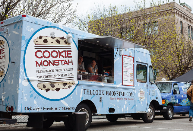 Cookie Monstah Food Truck in Boston