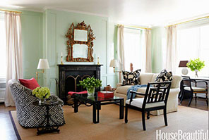 Aqua Mint Interior Paint Color
