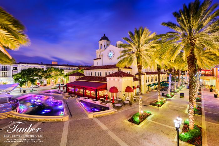 Holiday Lights at CityPlace in West Palm Beach, Florida