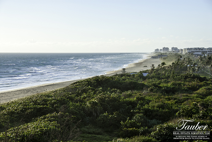 Coastline of Jupiter, Florida
