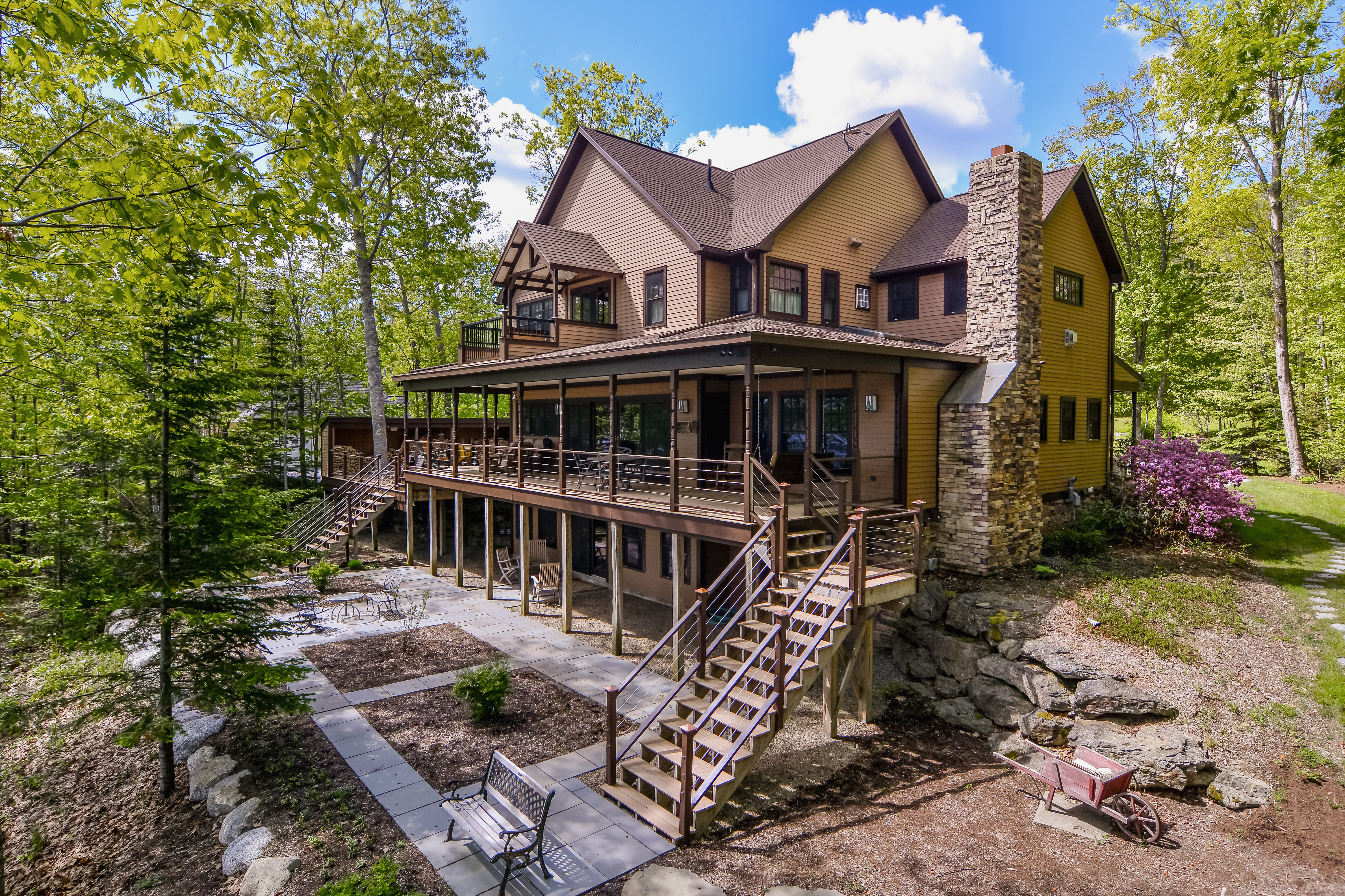 brooke luxurious sale cottages views knoxville s spectacular pin maine lake in waterfront from located west for direction home lash every showcases