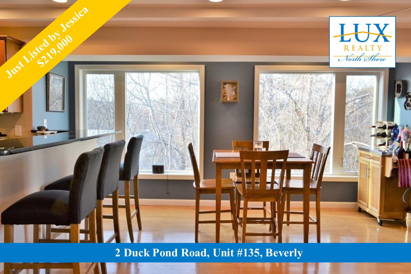 condo for sale duck pond road beverly ma