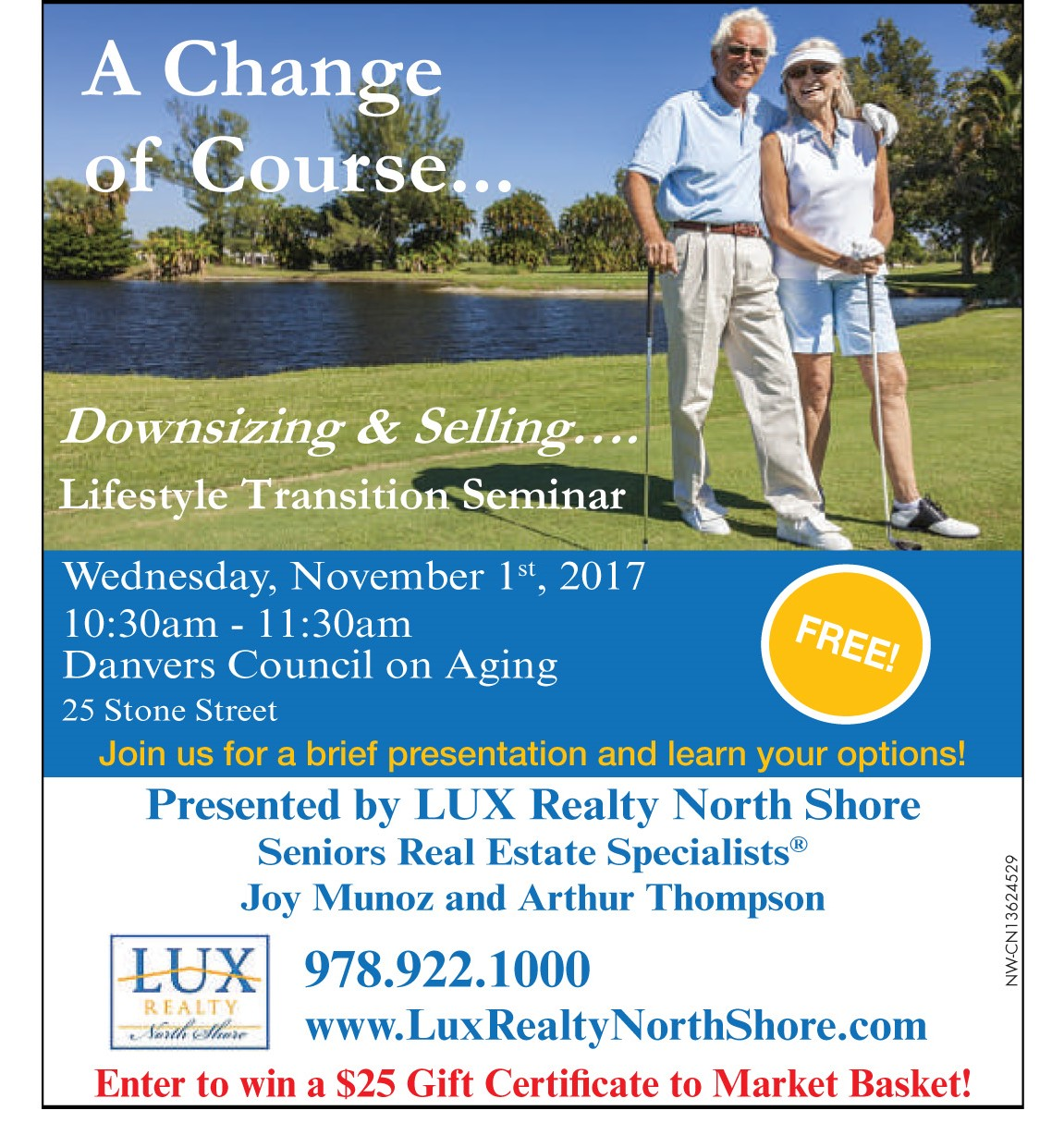danvers council on aging lifestyle transition seminar