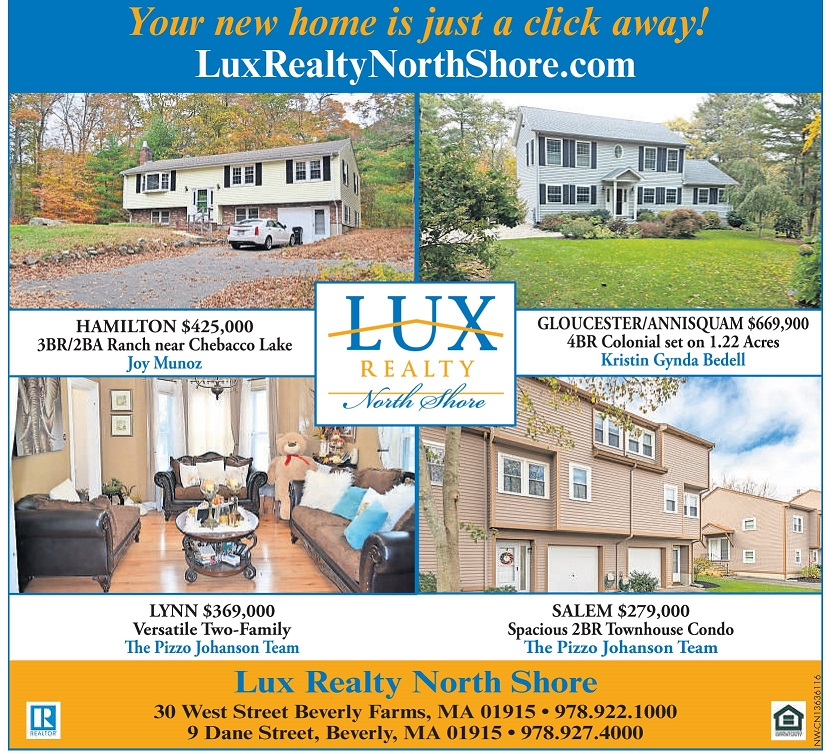 lux realty north shore weekly ad